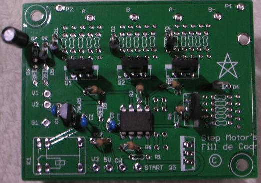 CNCフライスモデリングマシンネットショップモータードライバ回路