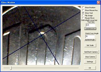 CNCフライス盤エッジファインダー